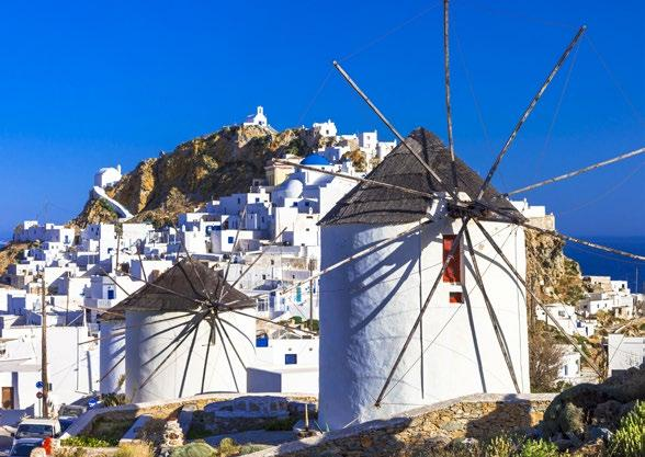 SERIFOS + KYTHNOS Serifos is considered among the most picturesque Cycladic areas with white