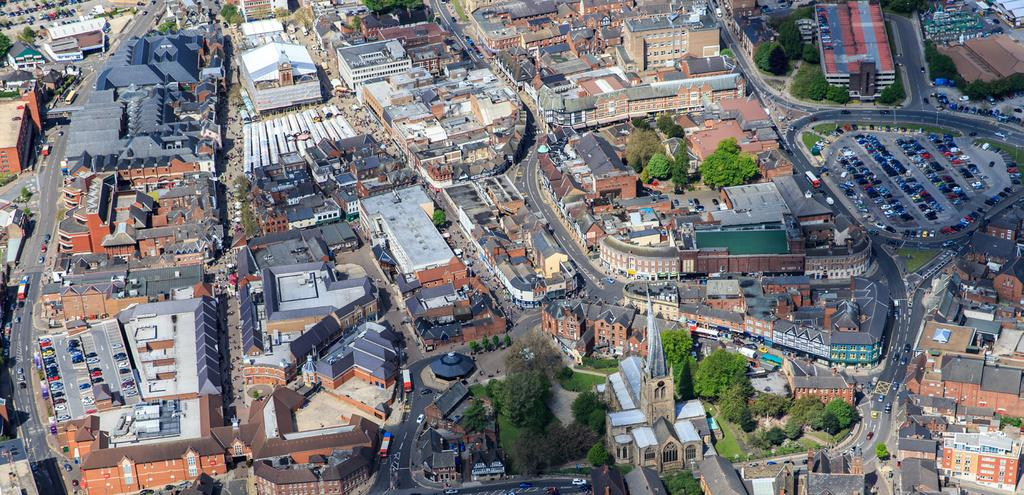 Regeneration and Growth Within Chesterfield Up to 7,300 new homes planned for Chesterfield by 2031 will contribute a further 16.5m in Comparison Goods Market Potential.