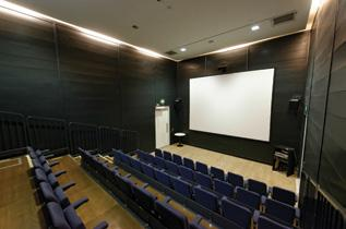 Standing 150 4 hours 240+VAT 8 hours 400+VAT Cinema Our very own 54-seat cinema is perfect for seminars, panel discussion and presentations.
