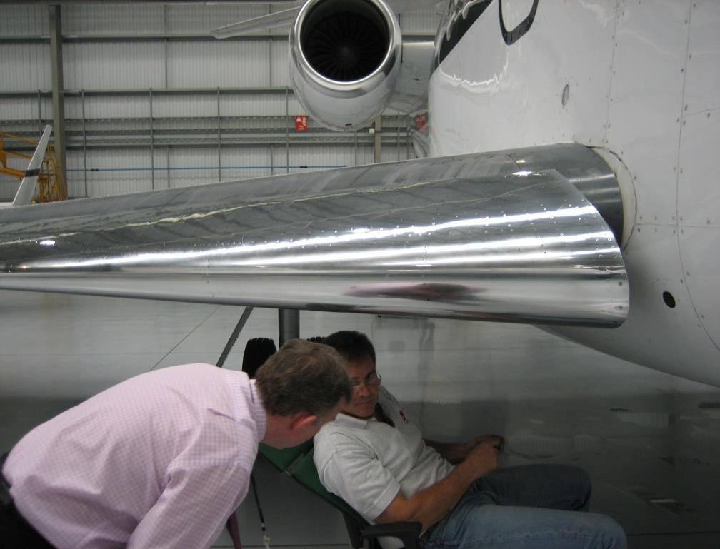 Airworthiness Review The approved airworthiness review staff shall carry out a physical survey of the aircraft.