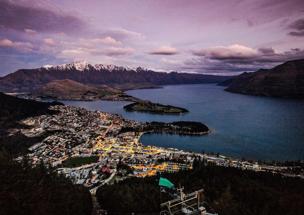 Experience ONE OF NEW ZEALAND S MOST VIBRANT DESTINATIONS QUEENSTOWN new Zealand Nestled beside the pristine Lake Wakatipu in New Zealand s South Island, the township of