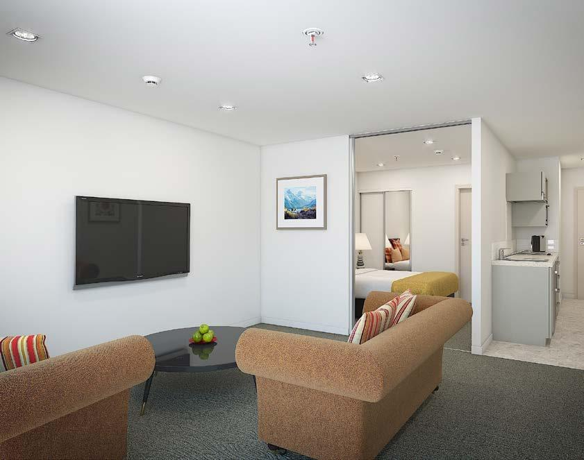 The pricing of the apartments at Wyndham Garden Queenstown start from $199,855 + GST (if any).