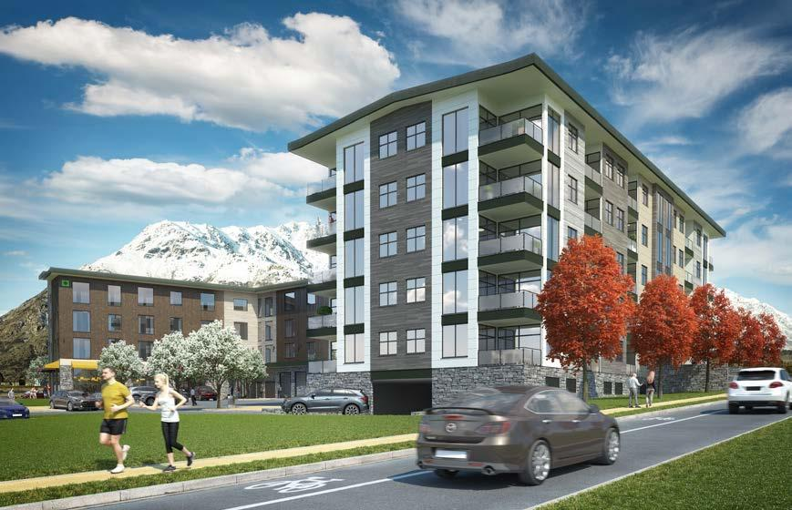 PREMIUM RETURNS RESIDENTIAL APARTMENTS Wyndham Garden Queenstown offers 55 residential