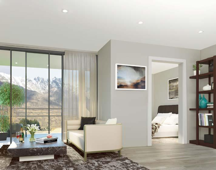 Each architecturally designed apartment is superbly finished with a high level of quality and