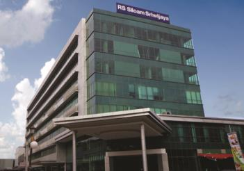 24 Developing Hospitals SILOAM HOSPITALS PALEMBANG SOUTH SUMATERA 357 Bed Capacity
