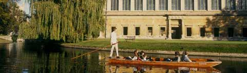 THINGS TO DO Historic Cambridge is one of the busiest tourist spots in the country with over three million visitors a year.