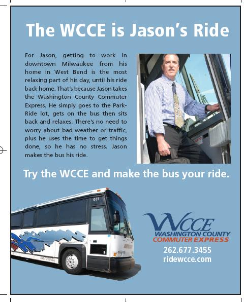 Local Advertising Includes Riders In 2003, the WCCE became a part of the Southeast Wisconsin Transit Marketing Partnership.