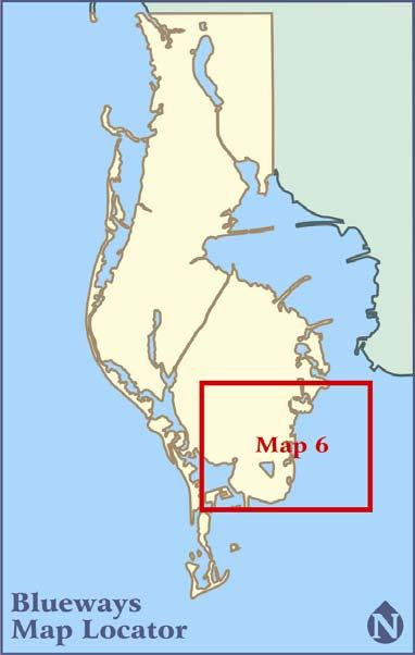 MAP 6: GPS Coordinates for Highlighted Features Reachable from Launch Points* 29. Gulfport Beach 27.44.255' 082.42.427' Clam Bayou Nature Preserve 27.44.442' 082.41.661' 30.