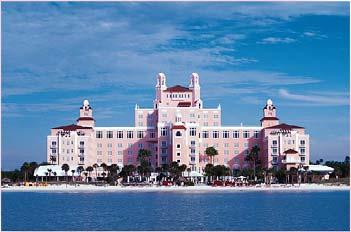 The Don Cesar (Maps 4 & 5) Built in 1924 by Thomas Rowe, the Don Cesar fulfilled his dream to build a pink castle. The Don has hosted a number of rich and famous guests, including F.
