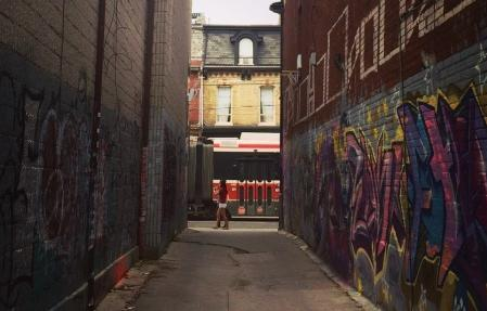 Laneways in the City of