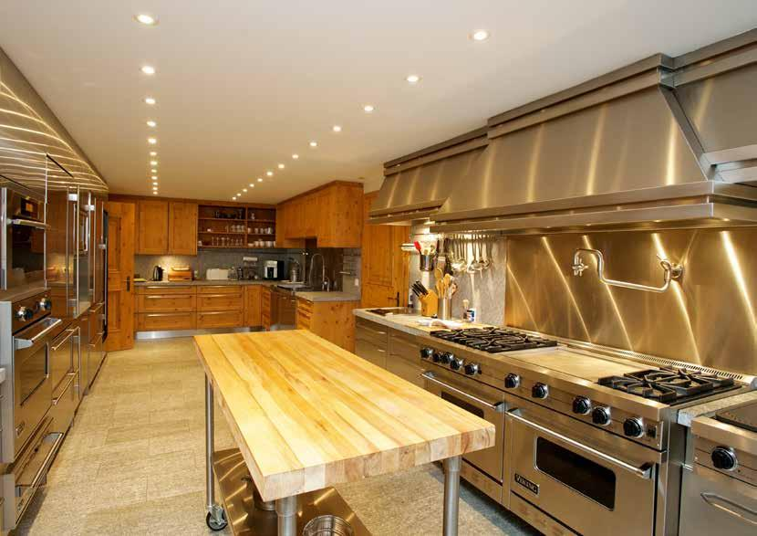 The professional kitchen, with