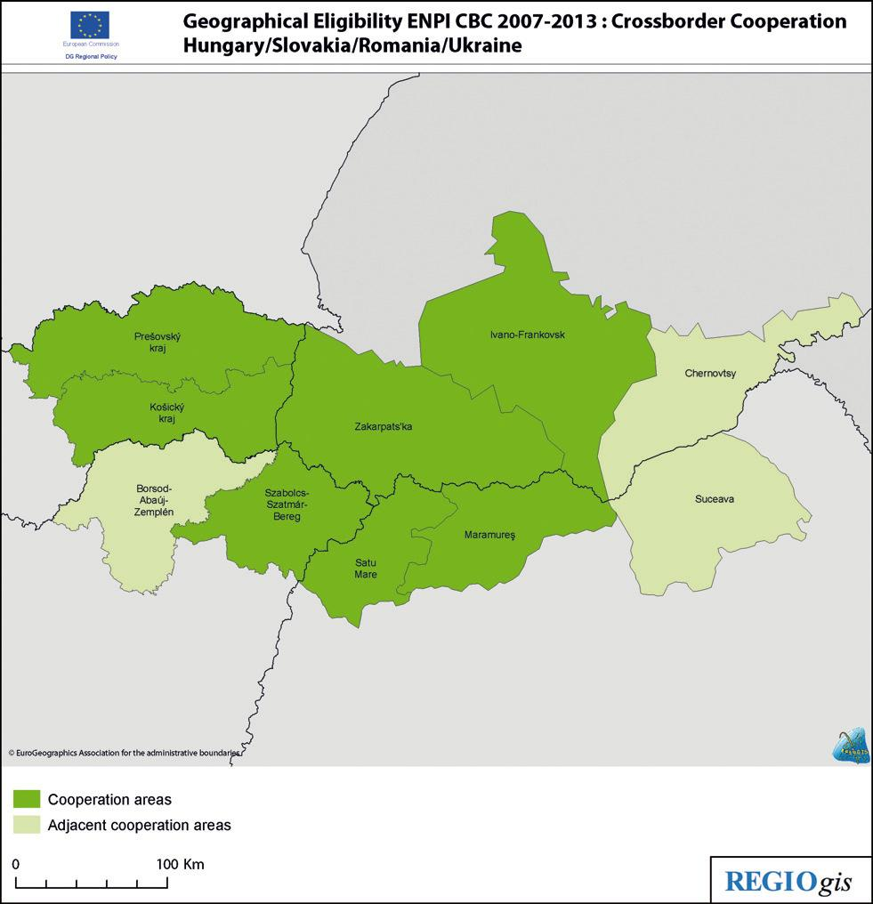 Projects in the field of innovations and research within the Carpathian region Crossborder Cooperation Programme Hungary Slovak Republik Romania - Ukraine 1.