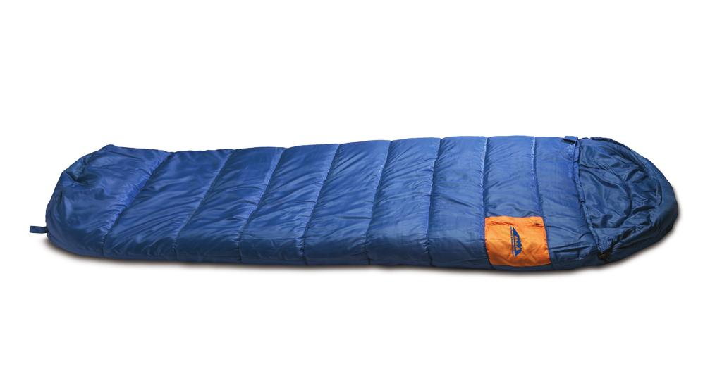 "15222 Charcoal Gray polyester/cotton liner Two elastic roll-up straps Poly bag/display insert High Plains Sleeping Bag Comfort rating of 30 F 33"" x 75"" adult size 4 lbs."