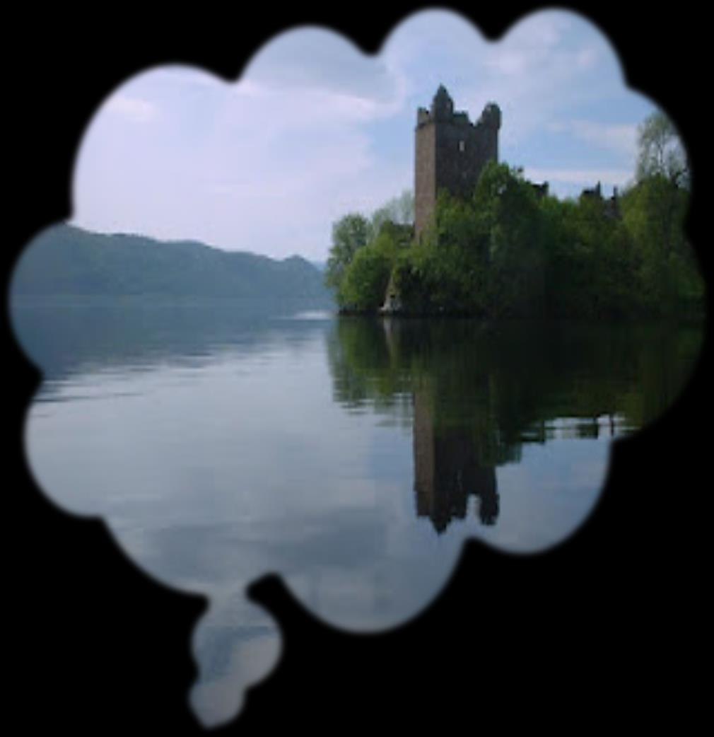Loch Ness is a big lake in Scotland. It is in the Scottish Highlands, near the city of Inverness. It`s a very deep lake with warm waters in the surface and very cold waters in the depths.