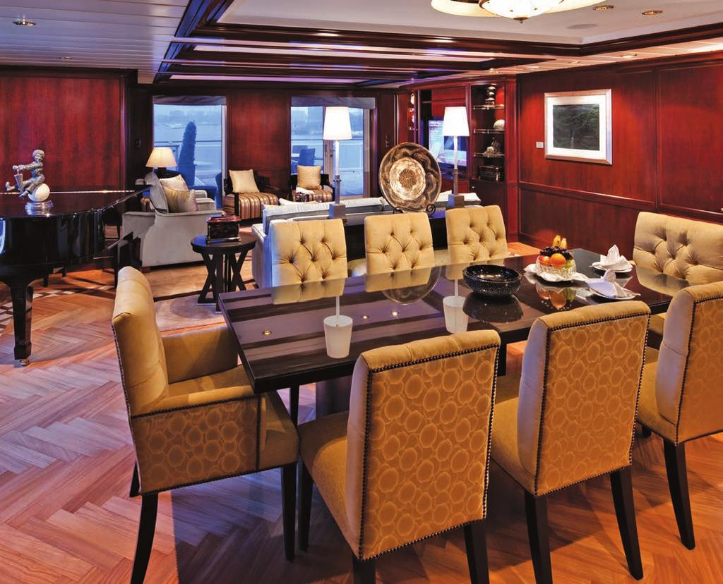 REFLECTION SUITE HIGHLIGHTS 2-bedroom/2-bath suite exclusive to Celebrity Reflection Award-winning interior design More than 30 ft.