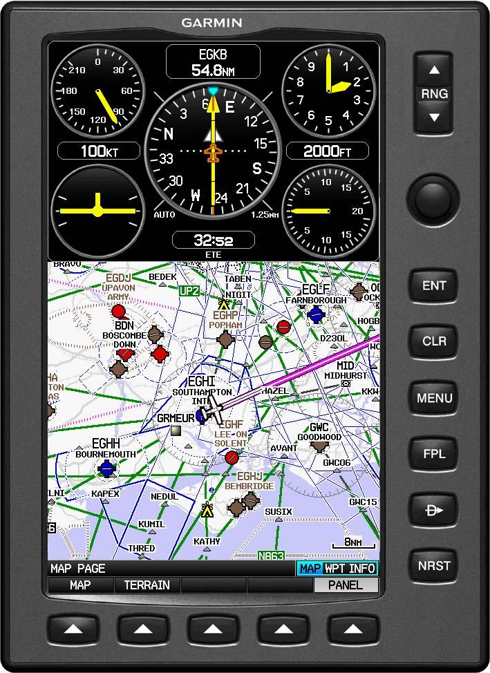 IFR Map with Panel added New
