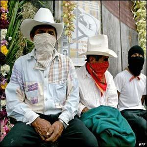 NAFTA On the day NAFTA took effect, a group of Mexicans called the Zapatistas took over several towns in their part of Mexico. The army was sent in to remove the Zapatistas.