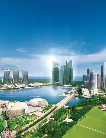 Marina Bay Financial Centre, Singapore Singapore s new business and financial centre, Marina Bay Financial Centre s first phase comprises 244,000 sq m of prime