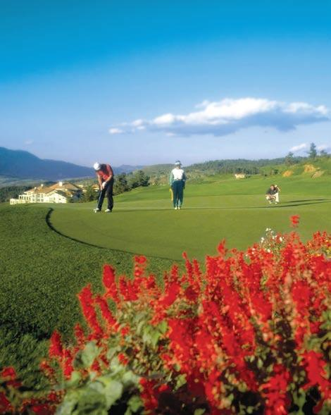 Spring City Golf and Lake Resort, Kunming, China This celebrated golf resort has won many accolades, including My Favourite Golf Club by China Golf Magazine for