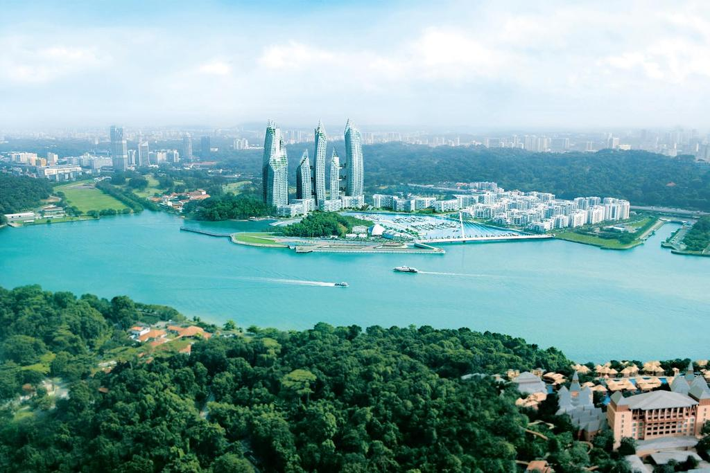 Keppel Bay, a world-class waterfront precinct Singapore s southern waterfront is buzzing with exciting activity and dramatic transformation.