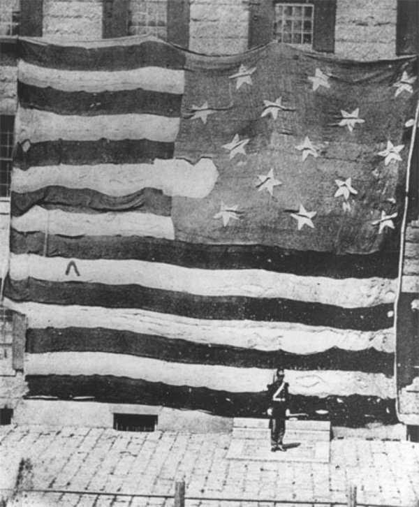 The Star Spangled Banner Flag Hand-sewn by Mary Pickersgill and her daughter, the Star Spangled Banner flag has had a long and
