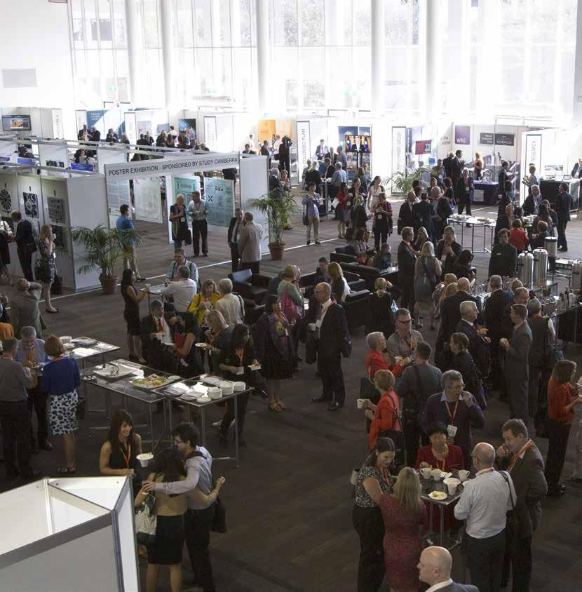 Exhibition opportunities Exhibition opportunities The Universities Australia Higher Education Conference expanded exhibition will be a major component of the conference, and the program has been