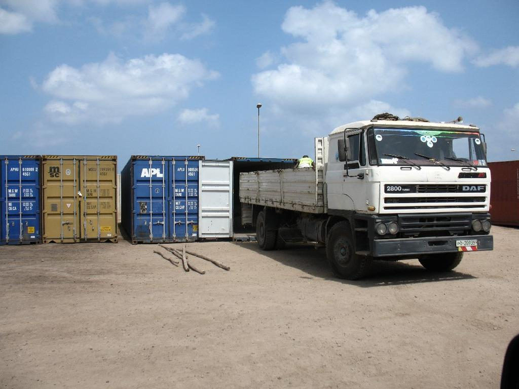 to 2500 vehicles Container