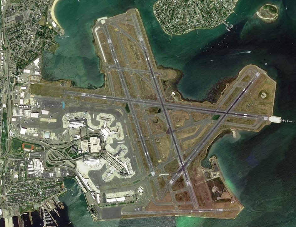 Boston Logan International Airport (BOS) is One of the Busiest Origin-Destination (O&D) Airports in the U.S. Over 36.
