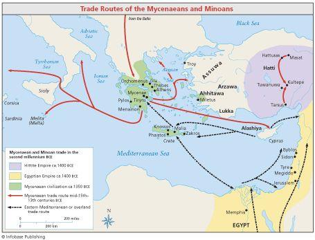 An Economy Based on Trade Abundant resources and trade helped Minoans build a prosperous economy Unlike the early civilizations of Egypt and Mesopotamia, the success of the