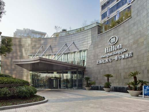 Hotel Grand Mercure Hongqiao **** About 12 km from the exhibition grounds This 4-star hotel is located in the center of the Hongqiao district, close to restaurants, bars, shops and offices.