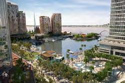 It links the Swan River and Perth CBD. The government s $44 million project will deliver 8 apartments, 4 hotel rooms and 225, sq.