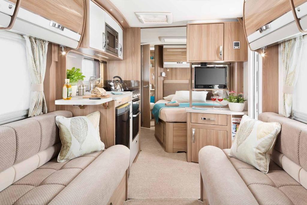 27 28 Touring is about freedom and relaxation and Swift designers have worked hard to ensure the