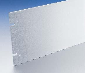 Also available solid without perforations. Material: 5052-H32 aluminum alloy Thickness:.