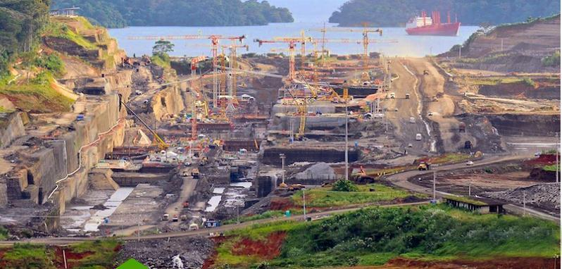 NEW PANAMA CANAL The rise of the