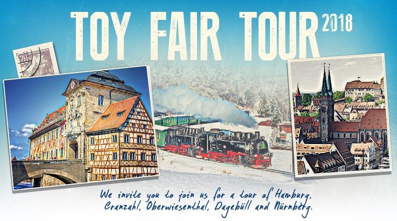 Tour Highlights Tour the city and harbor of Hamburg Visit the biggest layout in the world Train Ride to the North Sea Attend the International Toy Fair, which is not open to the public Visit
