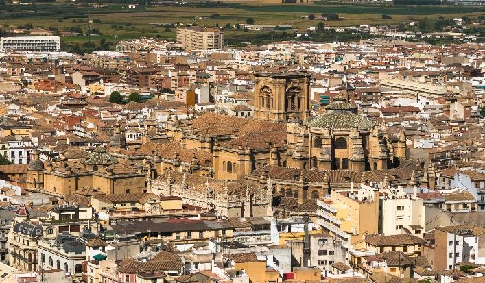 Cathedral & Capilla Real, Granada Alcazar, Segovia Mosque, Cordoba Arabic Baths, Ronda Short history of Andalusia The region name, Andalusia (in Spanish Andalucía), actually comes from the Arabic