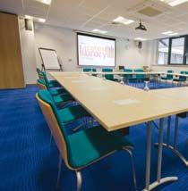 The versatile venue facilities and meeting rooms can accommodate from 2 to 100 attendees.