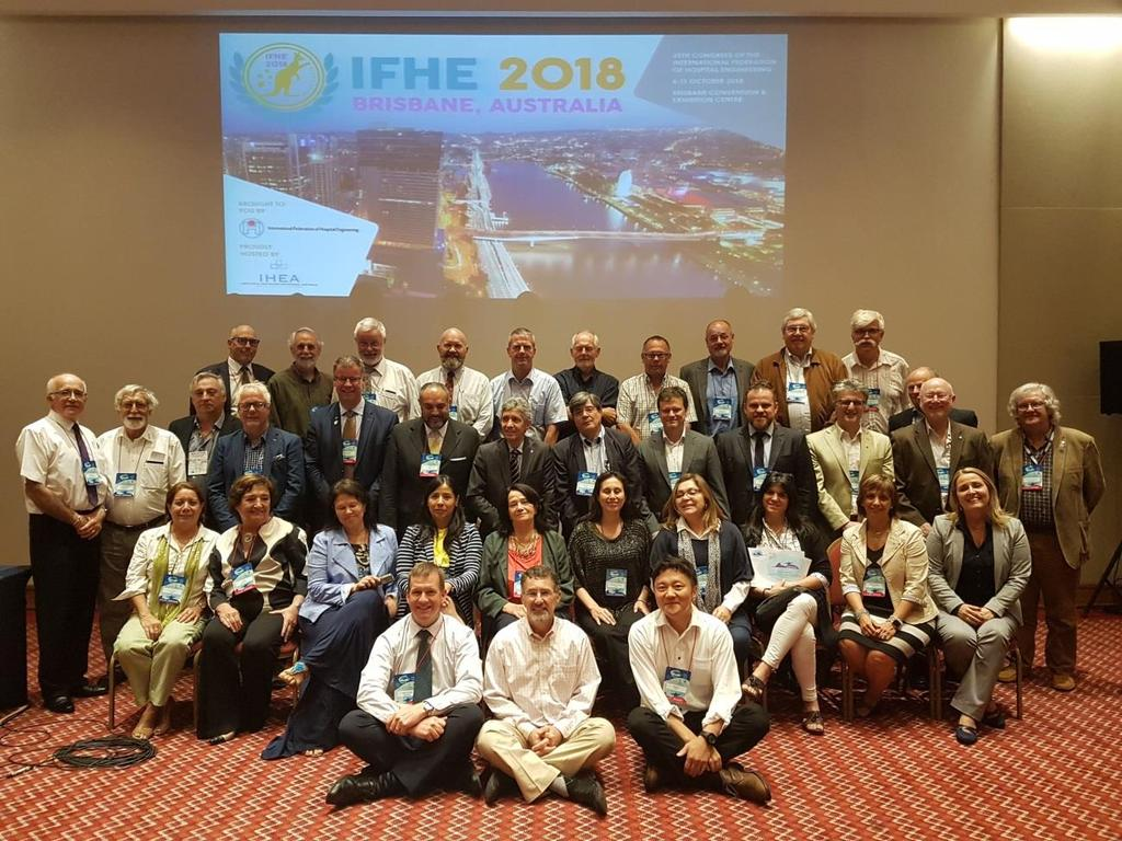 Regional America Group and Executive Committee of IFHE in the IFHE RIO 2017. Place: Othon Palace Copacabana, Rio de Janeiro, Brazil.