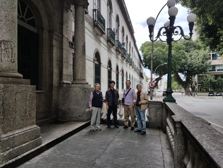 Additional visits were also made to the Santa Casa de Misericórdia in Rio de Janeiro, the first hospital built in the city by the Jesuit José de Anchieta in 1582 and still carrying out health care