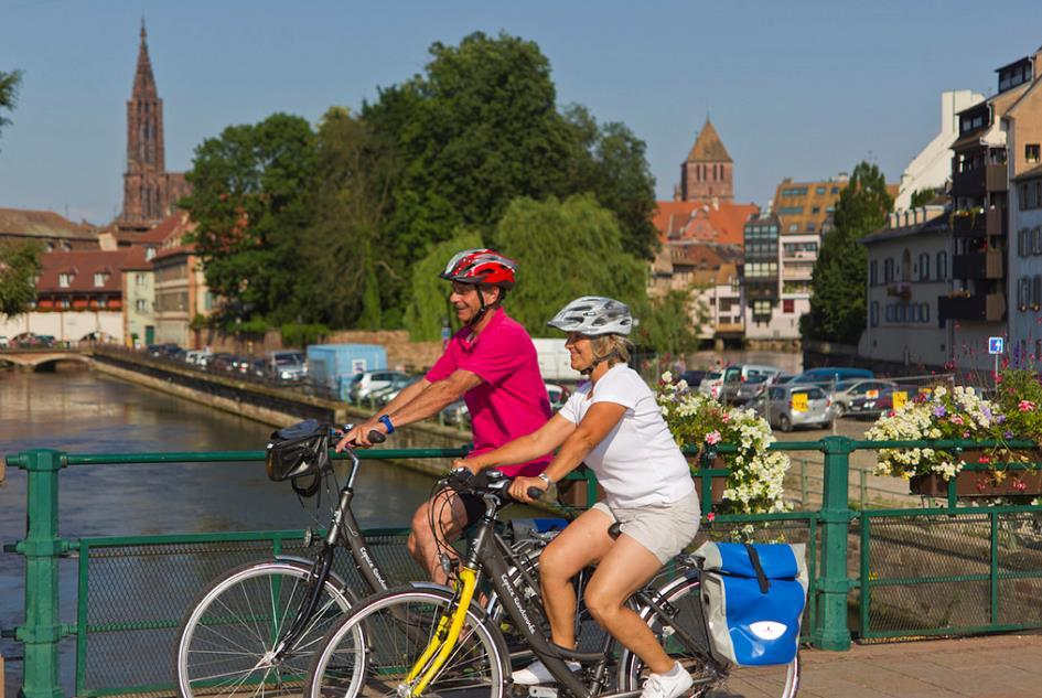 BIKE & BOAT 2018 FRANCE & GERMANY CYCLE & CRUISE ALONG THE RHINE FROM MAINZ TO STRASBOURG and V.V. 8 DAYS/7 NIGHTS Self Guidedopti Indulgence and wine on the River Rhine.