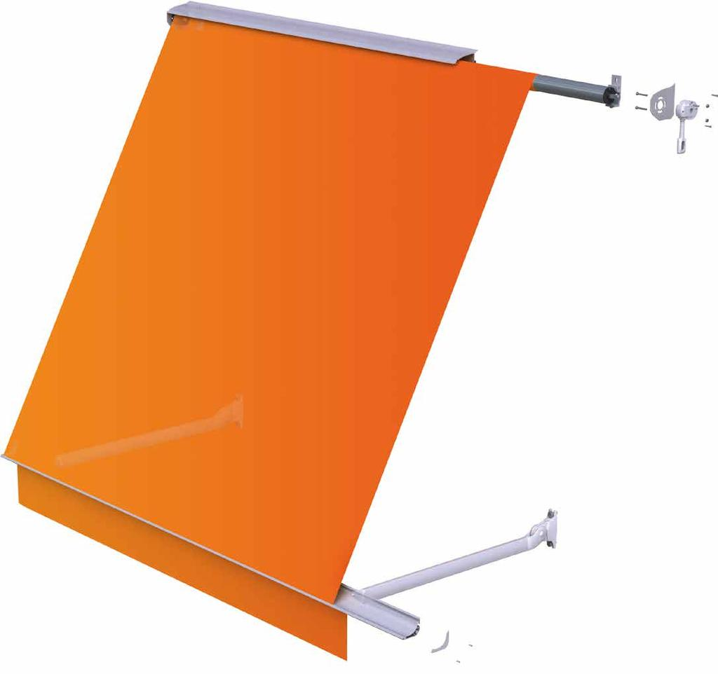 ISSUE: AW-03-002 Awnings - Italia Box - Specifications Italia Box Specifications Optional Valance Description Range of Application Italia Box is a compact, fully cassetted radial arm awning suitable