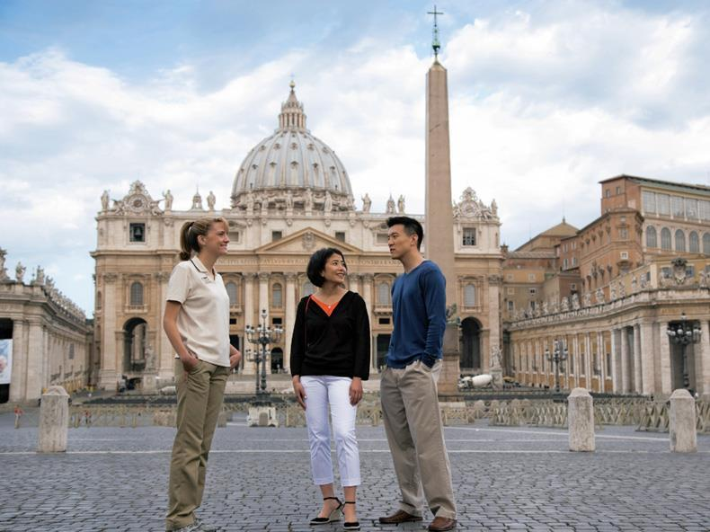 The tiny enclave of Vatican City is home to sacred sites and priceless art.