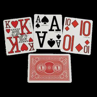 Large Print Playing Cards 2011.