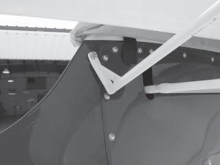 AIRCRAFT CORPORATION Attach the other end of each lock-back brace to the