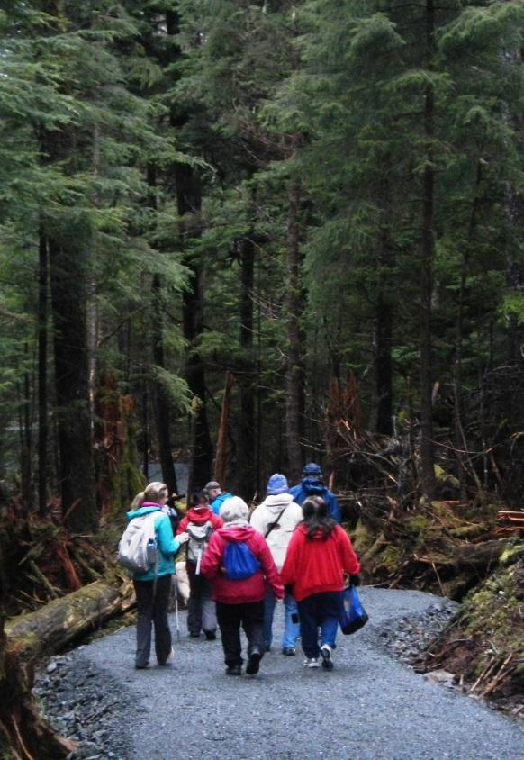 Sitka National Historical Park Visitor Center and Totem Trail ** USDA Forest Service Other 1. Gavan Hill to Harbor Mountain Trail, Shelter (6.2 miles) 2. Indian River Trail 3. Mt. Verstovia Trail 4.