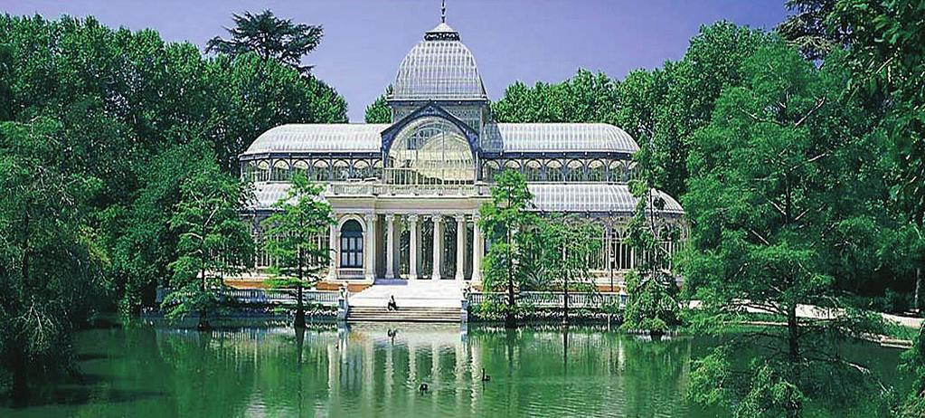 Retiro Park () Highlights of Spain & Barcelona on AVE train 7 days / 6 nights Private transfers, Airport - hotel & Barcelona hotel - Airport.