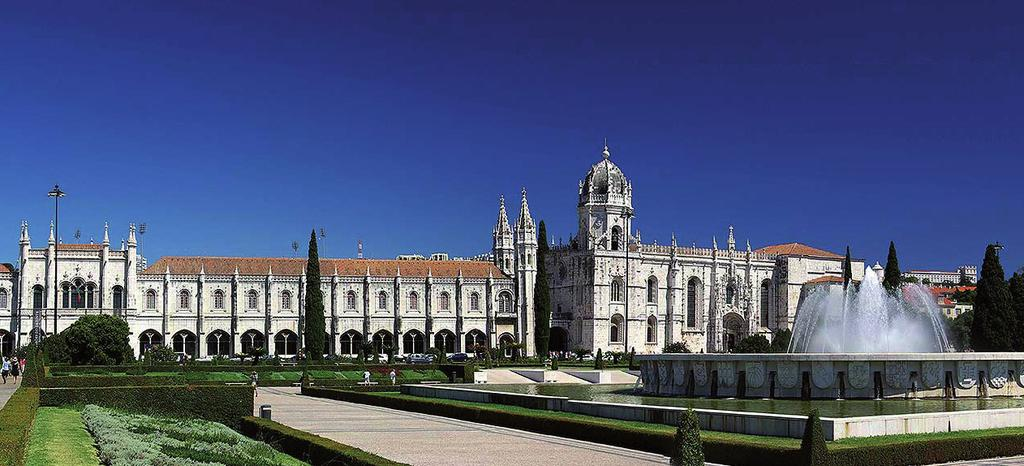 Jerónimos Monastery (Lisbon) Option: Flight from Lisbon to Tours Iberian Capitals Lisbon & 7 days / 6 nights Flight from Lisbon to (not included) Private Transfers, Lisbon Airport - hotel & hotel -