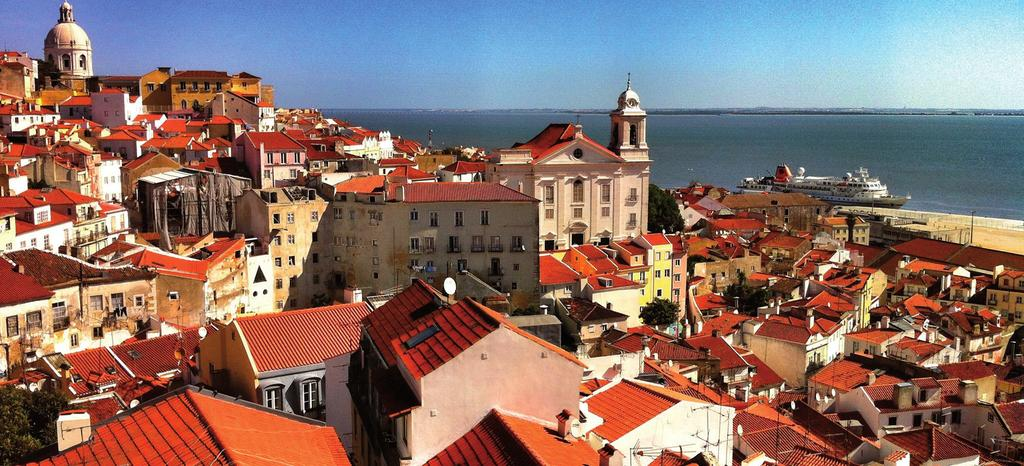 Alfama (Lisbon) Option: Flight from Lisbon to Highlights of Lisbon, & Barcelona (on AVE train in Spain) 0 days / 9 nights Flight from Lisbon to (not included) Private Transfers from Lisbon Airport -