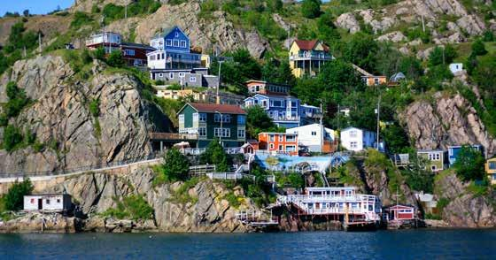comfortable lodging with a panoramic view of the Labrador Sea.