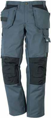 Trousers PS25-288 2 loose-hanging nail pockets reinforced with Cordura one with an extra pocket, the